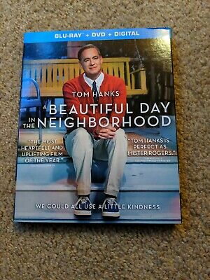 A Beautiful Day in the Neighborhood (Blu-ray & DVD 2019) Hanks No Digital copy