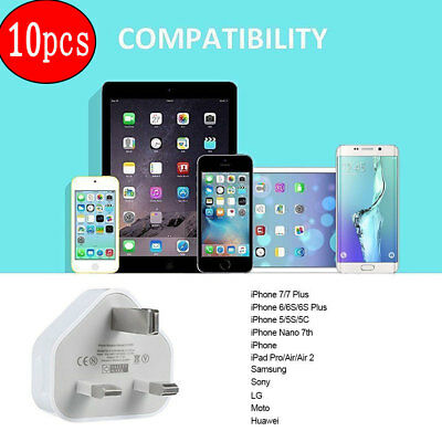 Usb Wall Charger Mains Power Adapter For Apple Iphone 6 6 Plus Ipod Touch/Nano