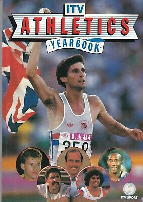 Itv Athletics Yearbook ~ 112 Pages Including Olympic Preview / Guide Seoul 1988
