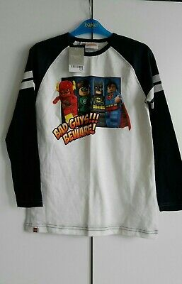 BNWT Next Boys Super Heroes Top Age 9 years