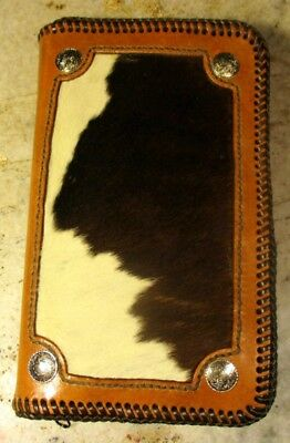 Carved Leather Note Book Cover