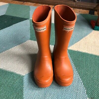 Childs Hunter Wellies Size 12