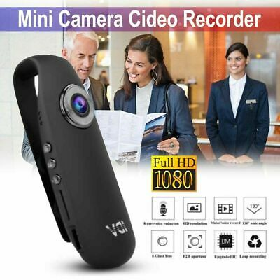 HD Mini Dash Cam Clip Camcorder Body Motorcycle Bike 1080P Motion Action Camera