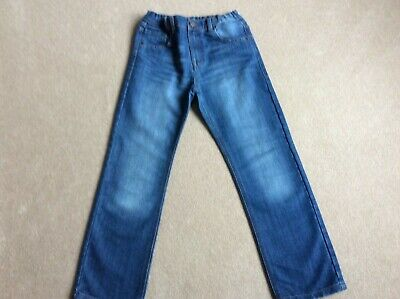 Boys Blue Regular Fit Jeans Age 11-12 Years from M&S - used