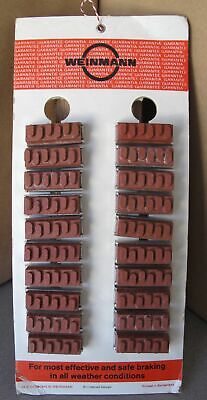 Weinmann Brake Shoes Lot 20-Qty on a dealer Display Board Vintage NEW Old Stock