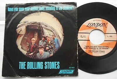 THE ROLLING STONES Have You Seen Your Mother, Baby Ex to NM- CANADA 1966 PS 45