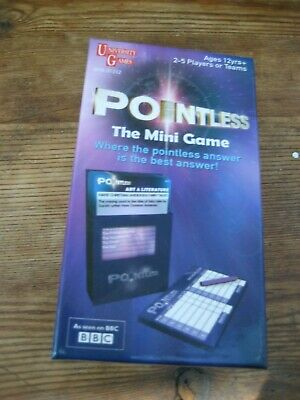 Pointless TV Show - The Mini Game - Played a couple of times. Complete & boxed