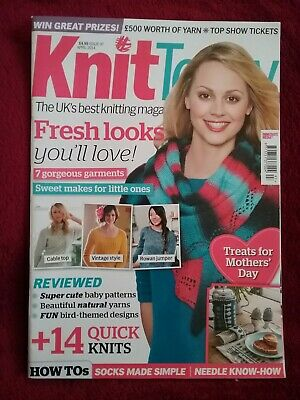 Knit Today Magazine Issue 97 April 2014