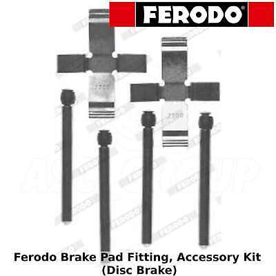 Ferodo FBA518 Rear Axle Brake Accessory Pad Fitting Kit Replace KIT312 LX0154