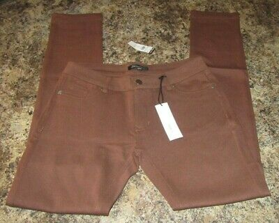 Womens/Juniors Brown Stretch Pants by Shinestar Size Large Body Central NWT
