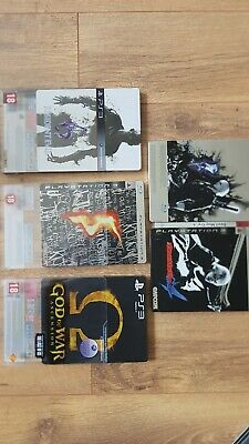 lot 4 jeux ps3 steelbook dmc4 resident evil 5 et 6 god of war
