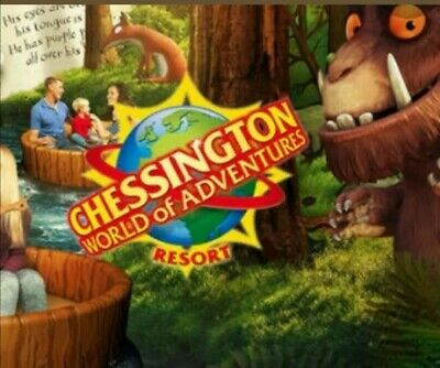 1 x chessington booking form and 3 tokens 1 is attached