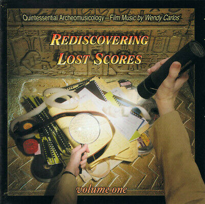 Wendy Carlos - Rediscovering Lost Scores Vol 1 - Esd Usa 2005 - New And Sealed!