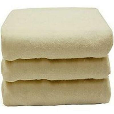 Naturepedic Organic Fitted Crib Sheet - 3pk - Ivory Flannel