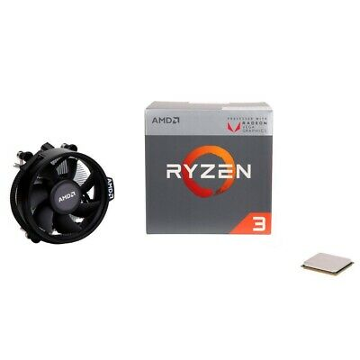 AMD Ryzen 3 2200G Quad Core AM4 Boxed Processor with Wraith Stealth Cooler - NEW