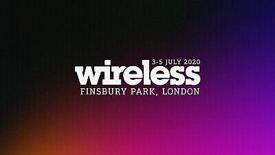 Wireless Festival 2020 Friday Ticket Sold out