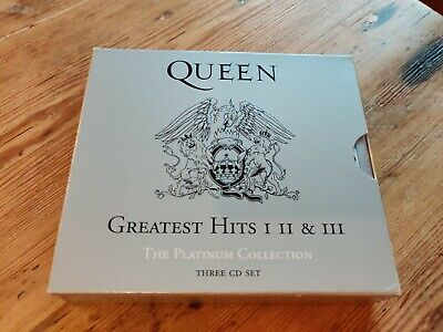 Queen - The Platinum Collection, Greatest Hits Vol. 1-3 (2006) Freddie Mercury