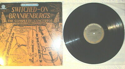 "Wendy  Carlos ""Switched-On Brandenburgs""VOL.1 NOS. 1,3 &4 Half Speed Mastered"