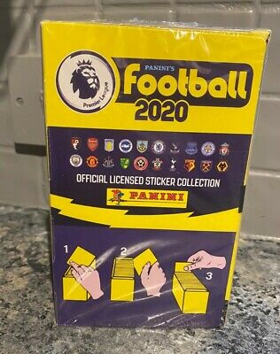 PANINI PREMIER LEAGUE FOOTBALL 2020 STICKERS complete BNIB 2019/2020 100 packets