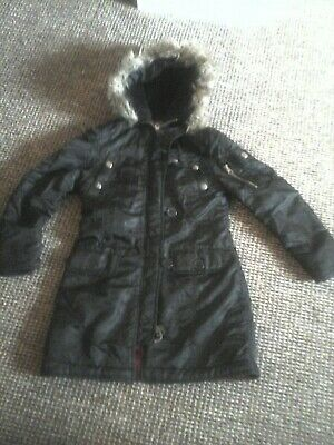 MissEvie Girls  Winter Jacket Hooded  Size age 7 - 8yers height 26ins
