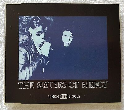 """The Sisters Of Mercy Lucretia My Reflection Mr45Cd Uk 3"""" Cd Single"""