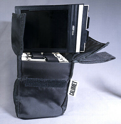Calumet Field Case with 8 Lisco Regal II and Fidelity Elite 4x5 Film Holders