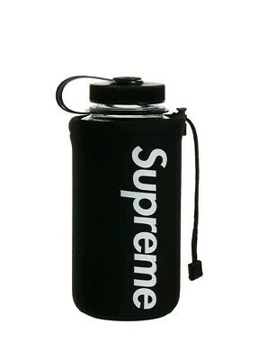 New SS20 Supreme Nalgene 32 OZ black bottle IN HAND
