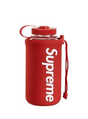 New SS20 Supreme Nalgene 32 OZ red bottle IN HAND