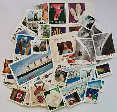 Canada $142 Dollars Face Value Mint no gum Postage Canadian Stamps