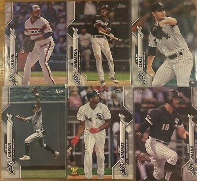 2020 Topps Series 1 Chicago White Sox Base and Rookie Cards You Pick / Choose