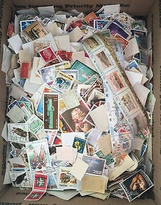 World Wide Stamp Mixture Lot - 12,000+ stamps - Mint, Used, etc.