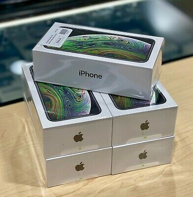 New Factory Sealed iPhone XS 64GB (Verizon) Fully Paid Off IMEI - 1 Yr Warranty!
