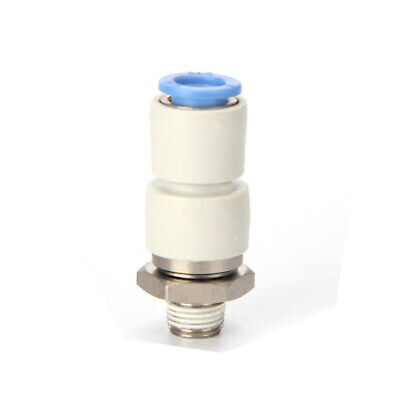 H●  SMC KSH06-M5 Male connector Rotary One-Touch New.