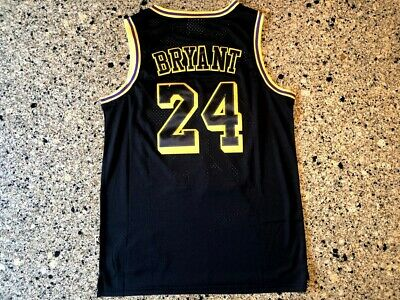 Kobe Bryant Los Angeles Lakers NBA #24 Jersey Custom Stitched Embroidered