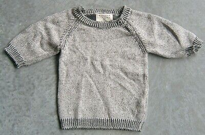 Wilson & Frenchy Baby Boys Cotton / Bamboo / Wool Jumper Sz 000 (0 -3 Months)