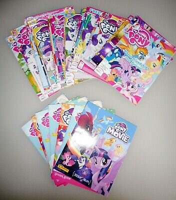 Job Lot Of My Little Pony Magazines And Sticker Albums