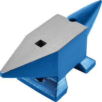44 LB Blacksmith Anvil Steel Anvil 20kg Solid Heat Treated Round Horn Metal Work