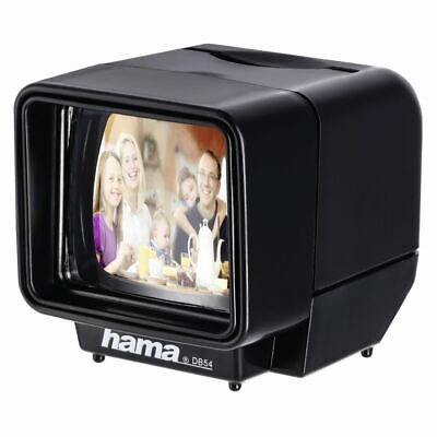 Hama LED Slide Viewer 3 x Magnification - Easy and Quick Viewing of Photo Slides