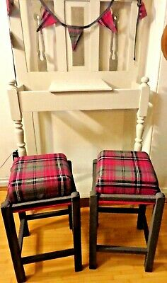Vintage Up Cycled Wooden Stool