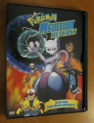 Pokemon Mewtwo Returns DVD 2001