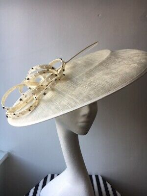 *NEW* Jasper Conran ivory fascinator - wedding, races, formal