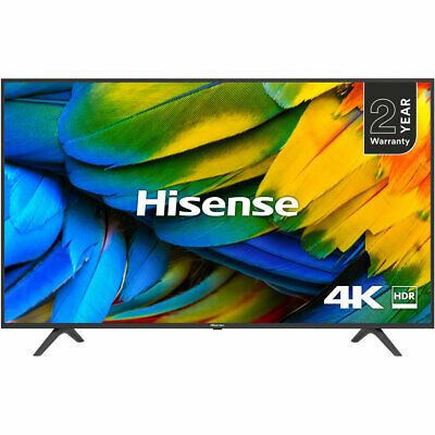 "Hisense H50B7100UK (2019) LED HDR 4K Ultra HD Smart TV, 50"" with Freeview Play"
