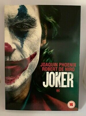 Joker 2019, DVD Joaquin Phoenix, Robert De Niro New & Sealed