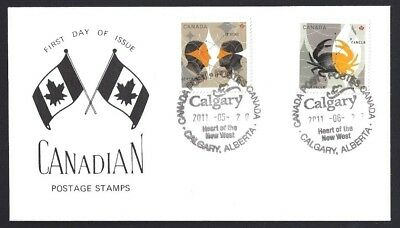 Canada   # 2451 & 2452   Signs of Zodiac Special Cachet   New 2011 Unaddressed