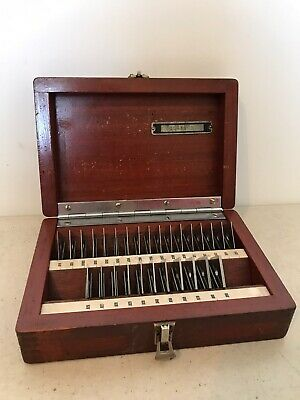 Pratt & Whitney 28-Piece Precision Gage Block Set