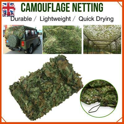 4mX6m Army Camouflage Net Camo Camping Shooting Hunting Hide Woodland Outdoor