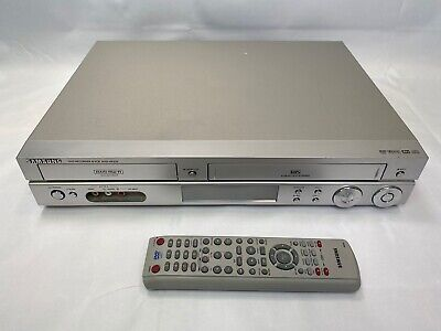 SAMSUNG DVD-VR320 DVD VCR VHS Player w/Remote
