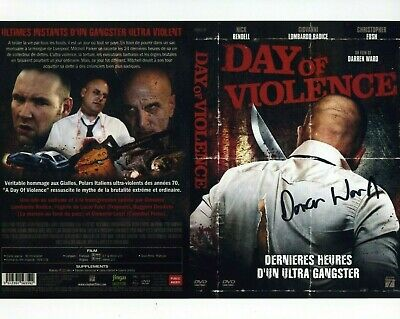 DARREN WARD *A DAY OF VIOLENCE* Director 10x8 Signed Autograph Photo