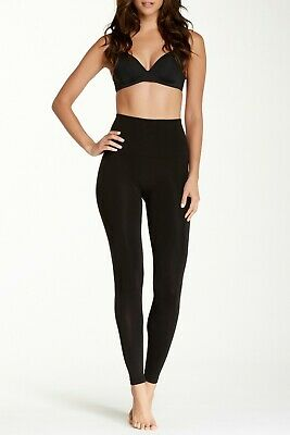 Spanx Takes Off Shaping Leggings Soft Black Size Small