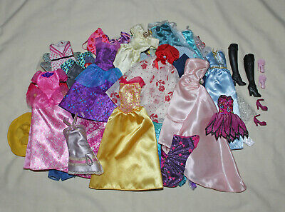Huge Lot of 50+ Barbie Doll Clothes - NO JUNK!